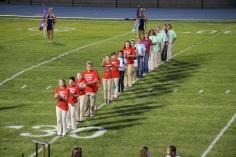 Raider Marching Band during Fall Meet The Raiders, TASD Sports Stadium, Tamaqua, 8-26-2015 (48)
