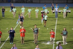 Raider Marching Band during Fall Meet The Raiders, TASD Sports Stadium, Tamaqua, 8-26-2015 (67)