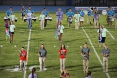 Raider Marching Band during Fall Meet The Raiders, TASD Sports Stadium, Tamaqua, 8-26-2015 (69)