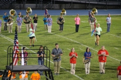 Raider Marching Band during Fall Meet The Raiders, TASD Sports Stadium, Tamaqua, 8-26-2015 (76)