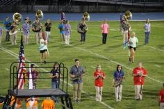 Raider Marching Band during Fall Meet The Raiders, TASD Sports Stadium, Tamaqua, 8-26-2015 (76)