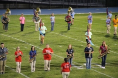 Raider Marching Band during Fall Meet The Raiders, TASD Sports Stadium, Tamaqua, 8-26-2015 (78)