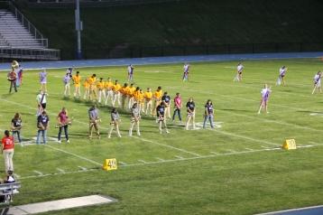 Raider Marching Band during Fall Meet The Raiders, TASD Sports Stadium, Tamaqua, 8-26-2015 (85)