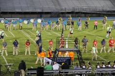 Raider Marching Band during Fall Meet The Raiders, TASD Sports Stadium, Tamaqua, 8-26-2015 (90)