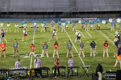 Raider Marching Band during Fall Meet The Raiders, TASD Sports Stadium, Tamaqua, 8-26-2015 (91)