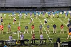 Raider Marching Band during Fall Meet The Raiders, TASD Sports Stadium, Tamaqua, 8-26-2015 (91)