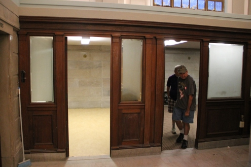 Renovation Status, Tamaqua Historical Society Museum, Tamaqua, 8-27-2015 (19)
