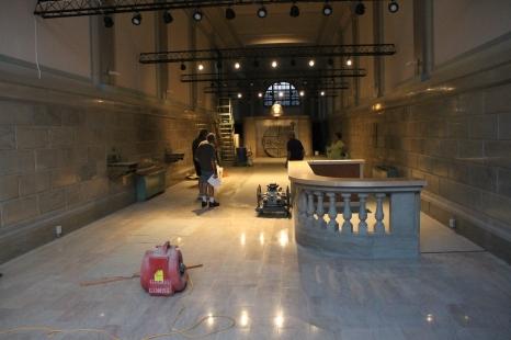 Renovation Status, Tamaqua Historical Society Museum, Tamaqua, 8-27-2015 (3)