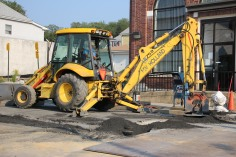 Road, Water Line Work, East Phillips Street, Coaldale, 8-17-2015 (2)
