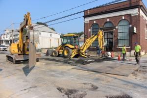 Road, Water Line Work, East Phillips Street, Coaldale, 8-17-2015 (3)