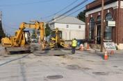 Road, Water Line Work, East Phillips Street, Coaldale, 8-17-2015 (7)