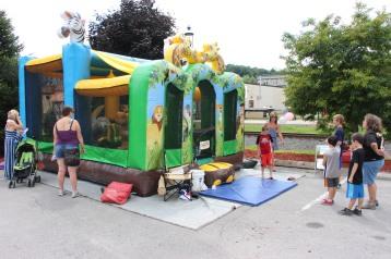 Salvation Army Kidz Karnival, Kids Carnival, Train Station Lot, Tamaqua, 8-4-2015 (10)