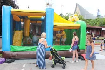 Salvation Army Kidz Karnival, Kids Carnival, Train Station Lot, Tamaqua, 8-4-2015 (11)