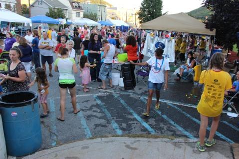 Salvation Army Kidz Karnival, Kids Carnival, Train Station Lot, Tamaqua, 8-4-2015 (119)