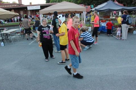 Salvation Army Kidz Karnival, Kids Carnival, Train Station Lot, Tamaqua, 8-4-2015 (94)