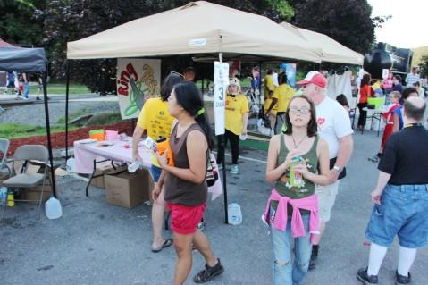 Salvation Army Kidz Karnival, Kids Carnival, Train Station Lot, Tamaqua, 8-4-2015 (97)