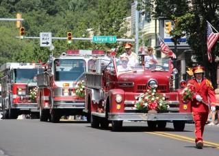 Schuylkill County Firefighters Convention Parade, Polish American Fire Company, Shenandoah (233 - Copy