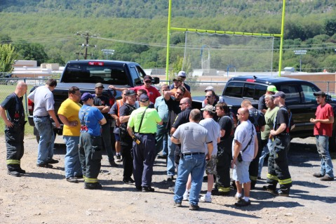 Search for Missing Man, South Ward Mountain, Tamaqua, 8-13-2015 (181)