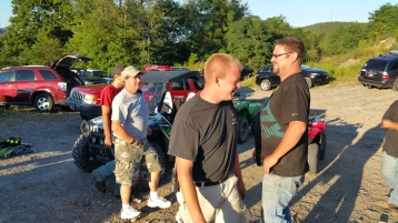 Search for Missing Man, South Ward Mountain, Tamaqua, 8-13-2015 (335)
