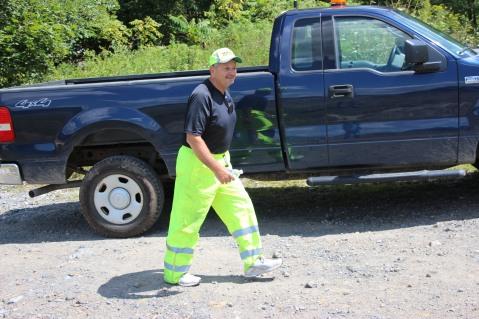 Search for Missing Man, South Ward Mountain, Tamaqua, 8-13-2015 (83)