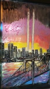 September 11 Mural, Painted, La Dolce Casa, Tamaqua, 8-15-2015 (4)