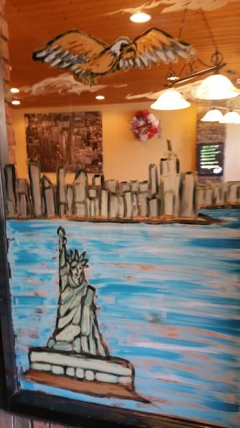 September 11 Mural, Painted, La Dolce Casa, Tamaqua, 8-15-2015 (5)