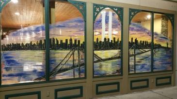 September 11 Mural, Painted, La Dolce Casa, Tamaqua, 8-15-2015 (6)