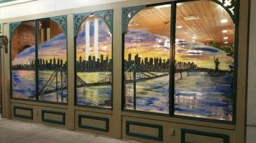 September 11 Mural, Painted, La Dolce Casa, Tamaqua, 8-15-2015 (8)