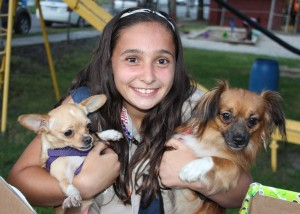 SPCA Donation Drive, Tamaqua Girl Scouts, North and Middle Ward Playground, Tamaqua, 8-13-2015 (1)