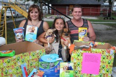 SPCA Donation Drive, Tamaqua Girl Scouts, North and Middle Ward Playground, Tamaqua, 8-13-2015 (25)