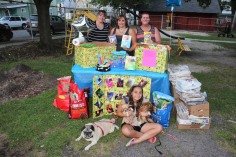 SPCA Donation Drive, Tamaqua Girl Scouts, North and Middle Ward Playground, Tamaqua, 8-13-2015 (51)