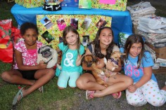 SPCA Donation Drive, Tamaqua Girl Scouts, North and Middle Ward Playground, Tamaqua, 8-13-2015 (66)
