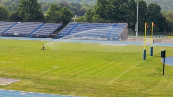Spraying Water on the Field, TASD Sports Field, Stadium, Complex, Tamaqua (28)
