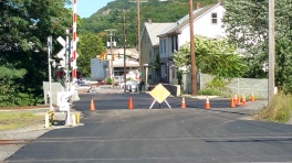 Spruce Street Construction Almost Complete, Tamaqua, 8-21-2015 (22)