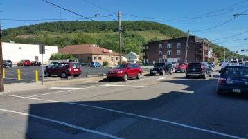 Spruce Street Construction Almost Complete, Tamaqua, 8-21-2015 (3)