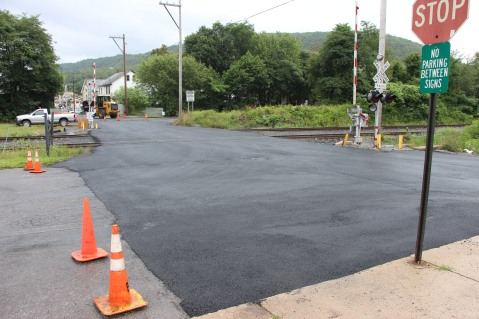 Spruce Street Construction Complete, Tamaqua, 8-21-2015 (1)