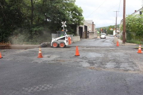 Spruce Street Construction Complete, Tamaqua, 8-21-2015 (14)