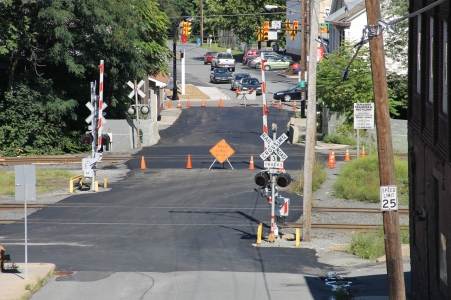 Spruce Street Construction Complete, Tamaqua, 8-21-2015 (200)