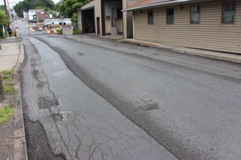 Spruce Street Construction Complete, Tamaqua, 8-21-2015 (22)