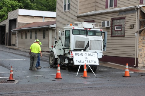 Spruce Street Construction Complete, Tamaqua, 8-21-2015 (26)