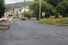 Spruce Street Construction Complete, Tamaqua, 8-21-2015 (3)