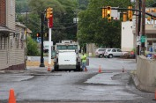 Spruce Street Construction Complete, Tamaqua, 8-21-2015 (33)