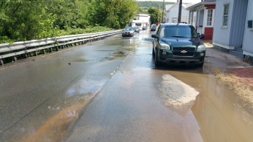 SR309 North to be Closed for Emergency Water Main Repair, Tamaqua, 8-6-2015 (14)