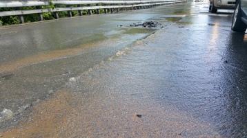 SR309 North to be Closed for Emergency Water Main Repair, Tamaqua, 8-6-2015 (19)