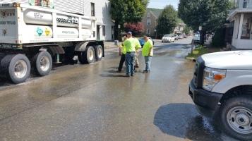 SR309 North to be Closed for Emergency Water Main Repair, Tamaqua, 8-6-2015 (2)