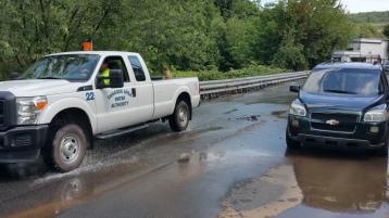 SR309 North to be Closed for Emergency Water Main Repair, Tamaqua, 8-6-2015 (21)