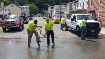 SR309 North to be Closed for Emergency Water Main Repair, Tamaqua, 8-6-2015 (4)