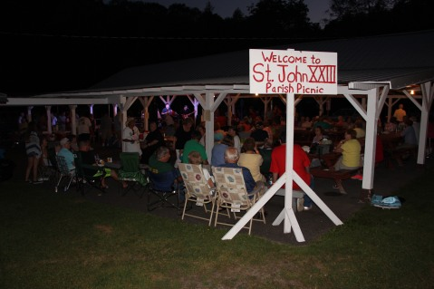 St. John XXIII Parish Picnic, West Penn Community Park, West Penn, 7-31-2015 (1)