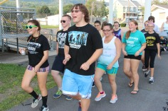 St. Luke's Health Walk, Health Walk, Panther Valley Football Stadium, Lansford (18)