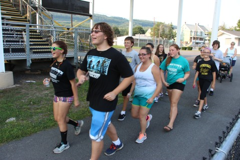 St. Luke's Health Walk, Health Walk, Panther Valley Football Stadium, Lansford (19)